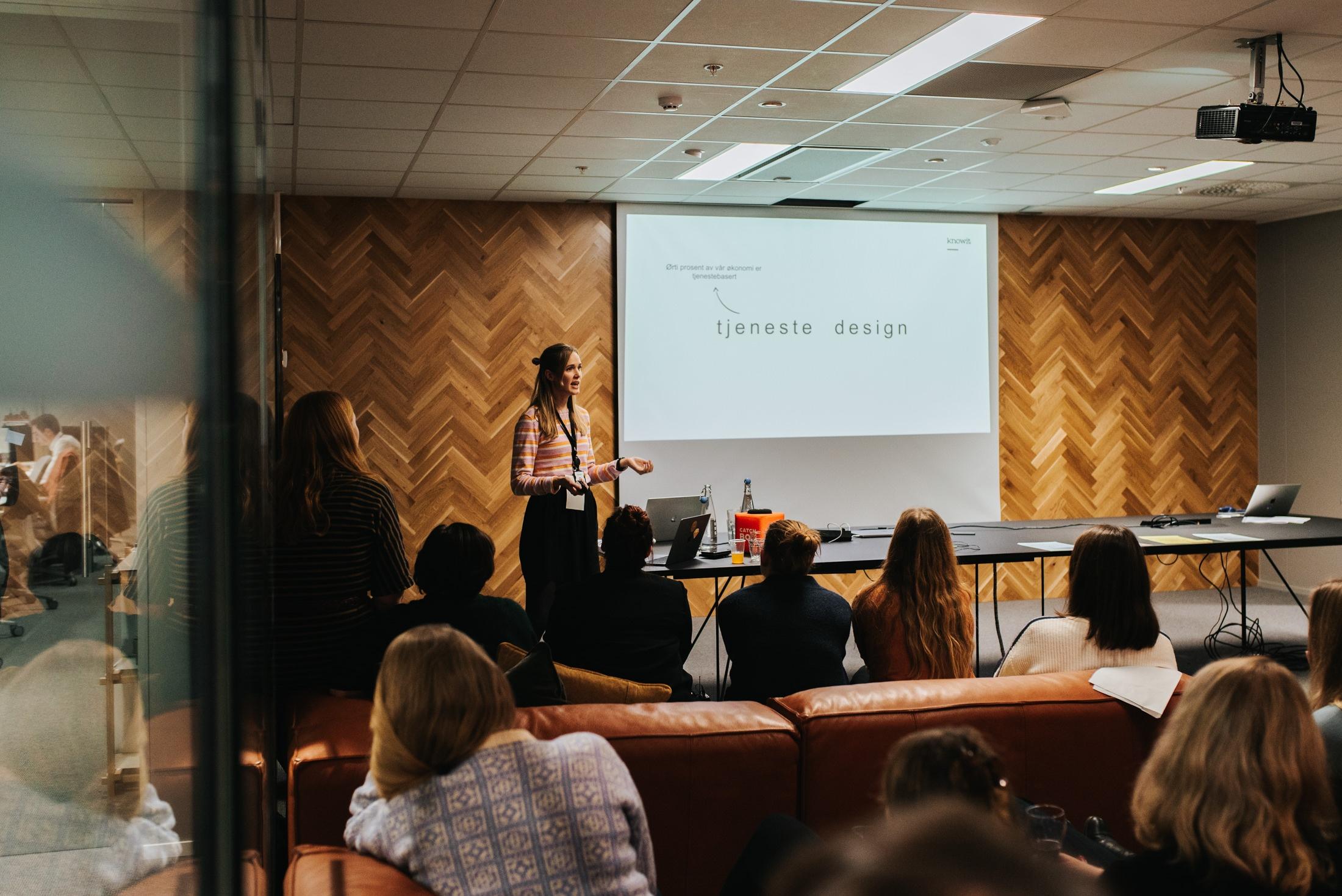 Miriam Stranquist forklarer hva tjenesedesign er
