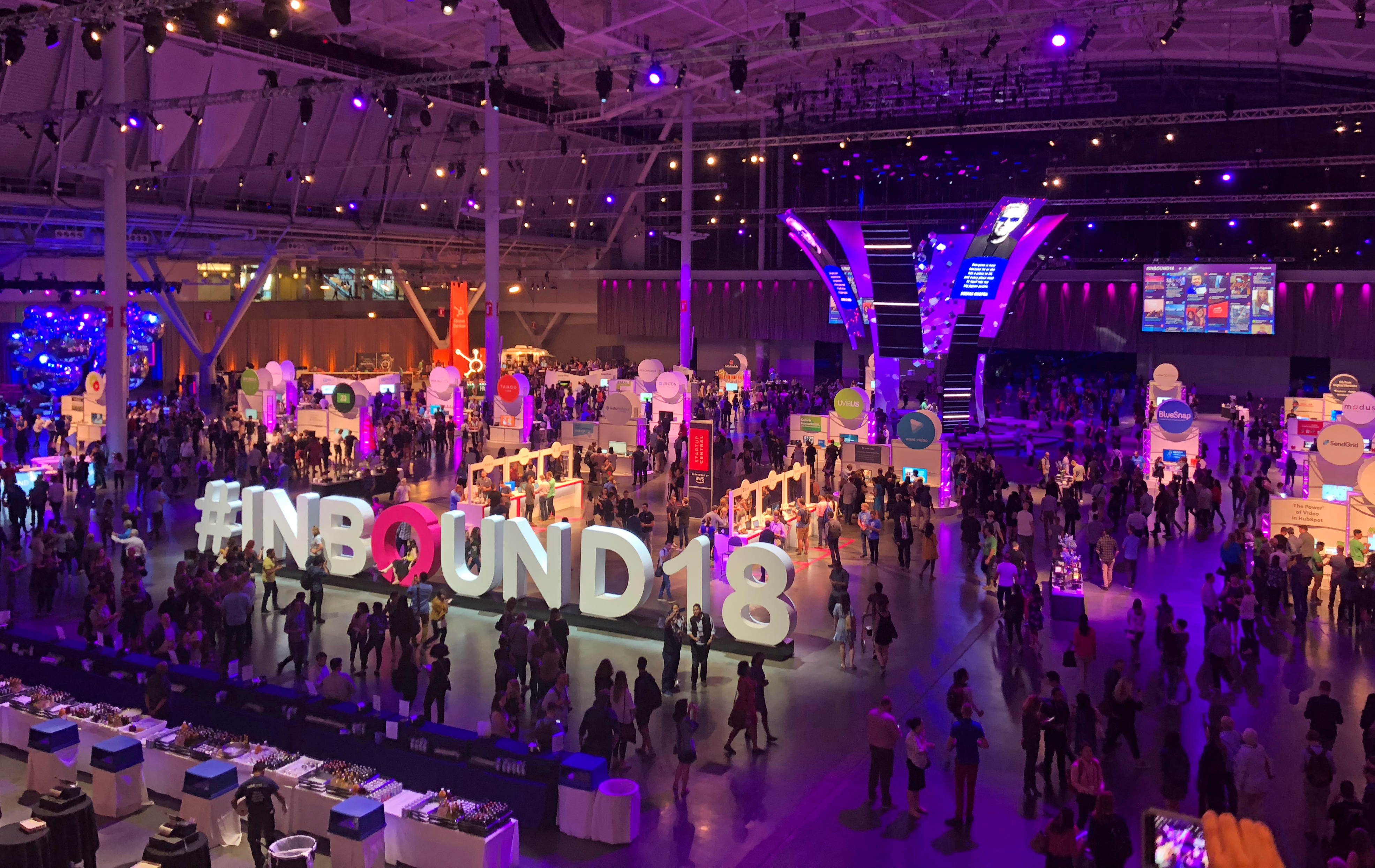 Inbound-konferansen i Boston i 2018