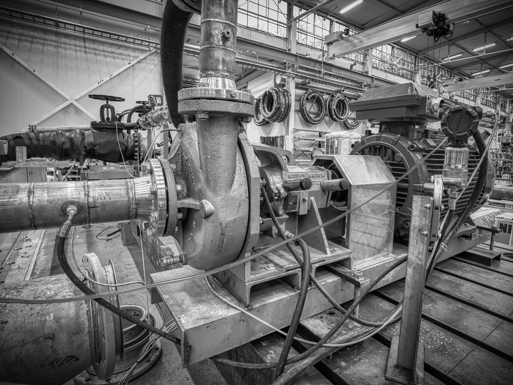 Industrial pump photo by Christian Egeberg