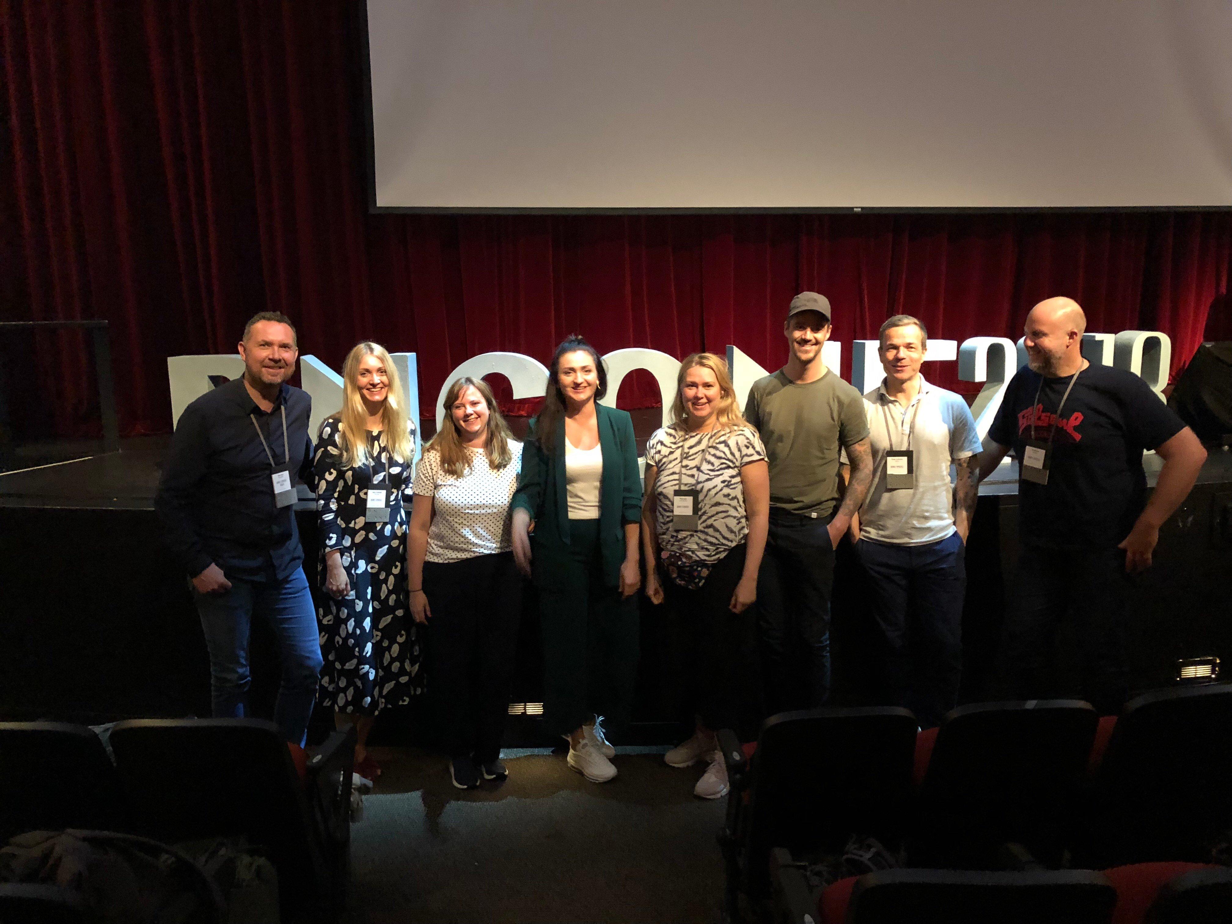 Åtte av Knowit Experience' ansatte på Brand New Conference